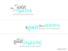propositions de logos