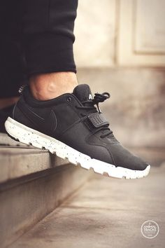 official photos ca793 8c378 Nike SB Trainerendor - Black (by Animal Tracks) – Sweetsoles – Sneakers,  kicks and trainers.