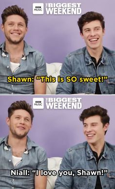 When he hung out with Niall Horan backstage and was just as excited about it as we were: 19 Reasons Why Shawn Mendes Is A National Treasure And We Need To Protect Him>>>> My babies 😚😚 Shawn Mendes Memes, Shawn Mendes Imagines, Shawn Mendes Magcon, Niall Horan Imagines, Harry Styles Imagines, Memes One Direction, Shawn Mendes Harry Potter, Mendes Army, Big Music