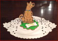 3D Scooby Doo cookies by Paolo Gariboldi