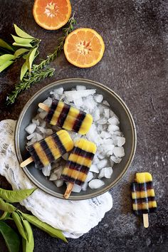 Pop right into the fall spirit with this fun Halloween Popsicle recipe!