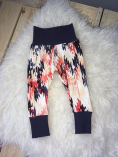 AZTEC LEGGINGS baby leggings tribal leggings by marysayssew Tribal Leggings, Baby Girl Leggings, Mary, Trending Outfits, Clothes, Fashion, Outfits, Moda, Clothing