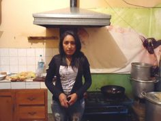La Paz, #Bolivia Food   Food Production/Sales Iblin is single and does not have children. She lives in a small rented room with brick walls and a dirt floor. The house is located in the Bella Vista area of the city of La Paz.
