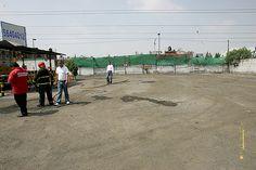 Nezahualcóyotl, Méx. 30 Mayo 2013. Poco más de dos horas después el terreno municipal recuperado lucía así.