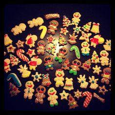 Gingerbread men & sugar cookies
