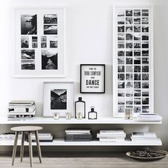 Black and white gallery wall. Are you looking for unique and beautiful art photo prints to create your gallery wall... Visit bx3foto.etsy.com