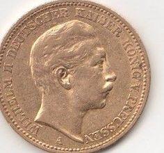 Maison de ventes aux enchères en ligne Catawiki: Kaiserreich, Preußen - 20 Mark 1889 A - Gold