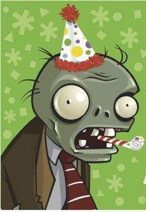 zombie cumpleaños