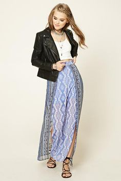 get funky with this boho maxi skirt!