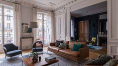 29 Ideas Apartment Living Room Design Modern Ottomans For 2019 Living Room Windows, Living Room Colors, New Living Room, Living Room Designs, Living Room Decor, Apartment Lighting, Decoracion Vintage Chic, Vintage Decor, Apartment Design