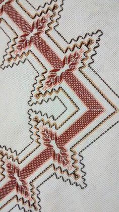 Vagonite: Confira or Step by Step from Como Fazer, Cute Models - Vagonite with releases - Swedish Embroidery, Embroidery Shop, Hardanger Embroidery, Hand Embroidery Designs, Embroidery Stitches, Embroidery Patterns, Cross Stitch Designs, Cross Stitch Patterns, Free Swedish Weaving Patterns