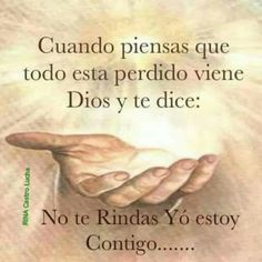 Confianza en Nuestro Dios