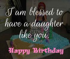Splendid Birthday Wishes for Daughter: Daughter is a wonderful blessing not for the parents alone but to the family too. Here we got the top 100 Birthday Wishes for Daughter. Wish your sweet daughter and let her know the ultimate love you have for her Birthday Wishes For Daughter, Happy Birthday Baby, Girl Birthday Themes, Birthday Man Quotes, Birthday Wishes Funny, Birthday Highchair, Daughter Quotes, Birthday Greeting Cards, Blessed