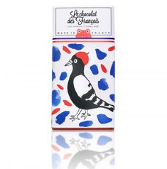 Buy the Milk Chocolate Oiseau Chocolate Bar by Le Chocolat Des Français and more online today at The Conran Shop, the home of classic and contemporary design Food Branding, Food Packaging, Brand Packaging, Pure Cocoa Butter, French Chocolate, Chocolate Chocolate, Delicious Chocolate, Cadeau Design, Chocolate Brands