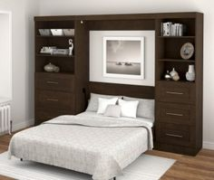 17 Extraordinary Bed Wall Unit Snapshot Ideas Single Wooden Beds Types Of Murphy