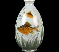 Image result for vase with fish