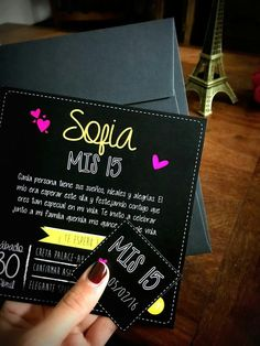 Palabras words for the Save the date Neon Party, Fiesta Party, Party Deco, Quince Invitations, Quinceanera Party, Sweet 16 Parties, Sweet 15, Ideas Para Fiestas, 15th Birthday