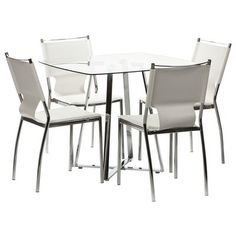 WASSEN Table 4 HORGEN Chairs