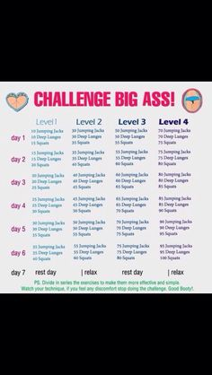 Big Butt Fitness Challenge with Squats Slim Thick Workout, Fitness Tips, Health Fitness, Woman Fitness, Butt Challenges, Exercise Challenges, Workout Challenge, Workout Plans, 30 Day Butt Challenge