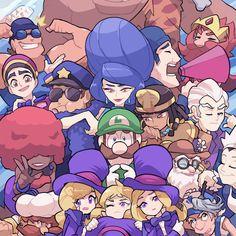 Mario And Luigi Games, Super Mario And Luigi, Super Mario Art, Super Mario World, Super Mario Brothers, Luigi Mansion, Game Character, Character Design, Mario Comics