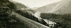 preston railroad west virginia | line passing through the spectacularCheat River Canyon near ...