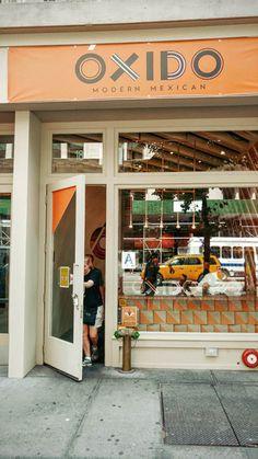 oxido nyc - Google Search Mexican Restaurant Design, Garage Doors, Nyc, Google Search, Outdoor Decor, Home Decor, Decoration Home, Room Decor, Home Interior Design