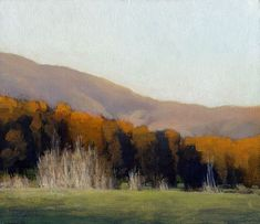 Pecans in the Fall, 6 x 7 inches, oil on panel. Marc Bohne