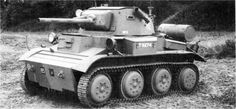 A17  Light Tank Mark VII   Tetrarch