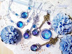 Moon Jewelry, Resin Jewelry, Magic Design, Kawaii Jewelry, Magical Jewelry, Resin Charms, Beautiful Costumes, Cute Charms, Fantasy Jewelry