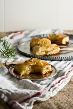 For the Bite-Sized Baked Brie: (makes 24 squares) 2 sheets puff pastry ...