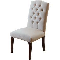 NobleHouse Solid Wood Upholstered Dining Chair