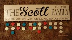 Family+Birthday+Board++STYLE+32+by+PolyCutz+on+Etsy,+$45.00