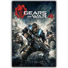 Gears of War 3 4 Art Silk Canvas Stampa Poster 12x18 20x30 inch Hot Military Gioco Di Tiro Immagini for Home Decor YX576 #Affiliate