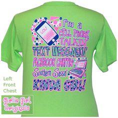 f6c2e02a Girlie Girl Original T's Facebook $16.95 Girly Girl Originals, The Originals,  Cute Shirts,