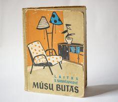 Soviet interior decorating book interior book USSR by SovietEra