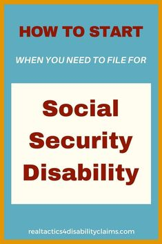 Do you need to file for Social Security Disability and don't know where to start? The 5 Day File your Disability is the course for you. Learn the ins and outs of what it takes to file a disability claim and start on the right track