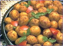 Rice Cooker Recipe - Spicy Roast Potatoes