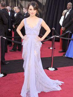The Best Oscar Dresses of All Time: Mila Kunis, 2011, Elie Saab