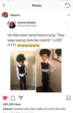 I feel like they dressed her up like her just to take a pic and make this caption Stupid Funny, Funny Cute, Really Funny, Funny Happy, Funny Tweets, Funny Jokes, Hilarious, Funny Troll, Lol