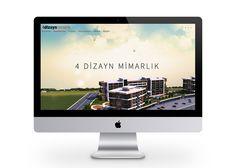4dizayn mimarlık web sitesi, izmir web tasarım