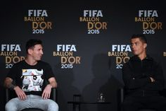 Cristiano Ronaldo Says He and Rival Leo Messi Have a 'Good Relationship'. He joked that he expected compensation for any translation services he provided at last week's Ballon d'Or ceremony in Zurich, where he shared the limelight with Messi and third-placed Neymar.