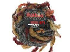 Adriafil Diablo  heerlijk voor een col of sjaal