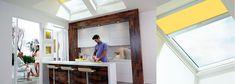 VELUX Skylights | Skylight Windows - Solar | Electric | Manual | Fixed