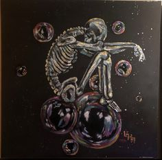 Bubble Skeleton