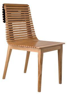 Chaise Market / Cuir recyclé Bois clair / Intérieur cuir noir - Petite Friture