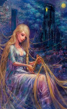 Rapunzel by Yuko Rabbit