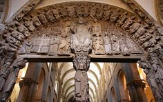 The Hedonist Conspiracy: Comment Portico of Glory. The Cathedral of Santiago of Compostela.