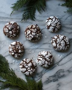 Chewy Chocolate Crinkle Cookies Chocolate Crinkle Cookies, Chocolate Crinkles, Awesome Desserts, Fun Desserts, Best Chocolate, Baking Recipes, Cooking, Food, Cooking Recipes
