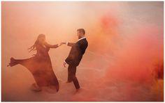 Eden Strader Photography, Smoke Bomb Photo, Smoke Bomb engagement photo, sand dunes engagement session, Little Sahara San Dunes Engagements, formal engagements, engagement pose ideas, utah wedding photographer
