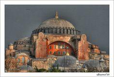 Hagia Sophia   Flickr - Photo Sharing! Hagia Sophia Istanbul, Islamic Architecture, Taj Mahal, Greece, Tours, City, Building, Travel, Cathedrals